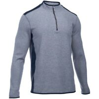 New With Tags Mens Under Armour UA ColdGear Infrared Survival Fleece 1/4 Zip Top