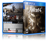 Fallout 4 - ReplacementPS4 Cover and Case. NO GAME!!