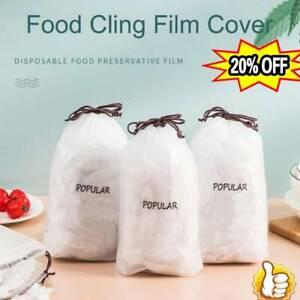 100PCS Fresh Keeping Bags Dustproof Disposable Bowl Vacuum Sealed Wholesales