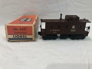 Lionel No. 6457 Lighted Caboose   Boxed OB  Postwar