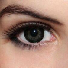 lentilles de couleur noir & gris 1 an - contact lenses blue green