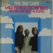 """7"""" Single - Bee Gees - Saw A New Morning - s496 - washed & cleaned"""