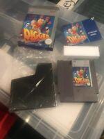 Digger T Rock Nintendo NES Entertainment System PAL A UKV vey Nice