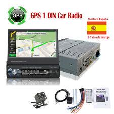 "7""1DIN GPS Pantalla Táctil Radio de Coche+8gTF+Cámara FM Enlace Espejo Bluetooth"