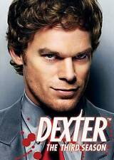 Dexter - The Complete Third Season (DVD, 2009) NEW Unopened (NIP)