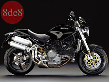 Ducati Monster S4R (2004) - Manual de taller en CD (En inglés e italiano)