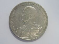 Ungarn - 5 Pengo - 1939 - 70. Geburtstag M. Horthy - Silber - VZ
