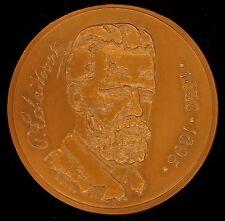 Russian Composer Pyotr Tchaikovsky Bronze Medal Art Musical Opera Ballet
