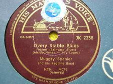 78 rpm-MUGGSY SPANIER- Livery stable blues - HMV JK 2238
