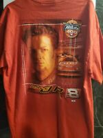 Chase Authentics Dale Earnhardt Jr. Nascar Mens T Shirt XL Red #8 Bud Brickyard