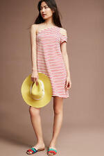 NWT Anthropologie Marketa One-Shoulder Dress by Maeve Size Large