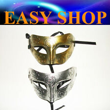 Silver + Gold Mask Costume Masquerade Cosplay Party Venetian Ball Roman Eye