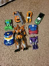 Lot of 8 Transformers used see photos for figures
