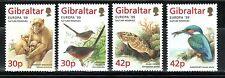 TEMA EUROPA 1999 GIBRALTAR  FAUNA RESERVAS NATURALES 4v.