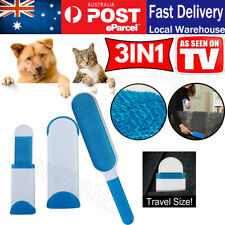 Furs Brusher Pet Hair Wizard Lint Remover Brush Self-cleaning Base & Travel Size