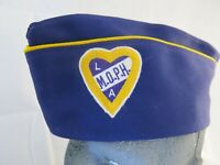 Vintage Military Order of the Purple Heart ladies Auxiliary Garrison Cap