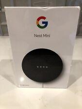 Brand New Google Nest Mini 2nd Generation Smart Speaker - Charcoal