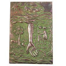 Bronze Relief helfende Hand Famlilie 16 cm * 11 cm Bronze relief Helping Hand