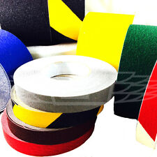 ANTI SLIP NON SKID TAPE HIGH GRIP STICKY BACKED ADHESIVE BLACK FLOOR SAFETY