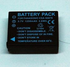 BATTERY AND CHARGER FOR PANASONIC  CGA S007E