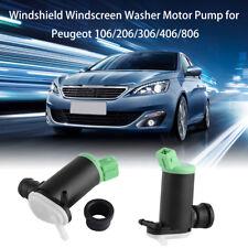 Windscreen Windshield Washer Water Pump Wiper For Peugeot 106 206 306 406 806 JS