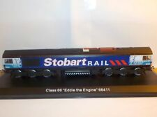 Stobart Rail Train, EDDIE THE ENGINE Oxford Diecast / Atlas 1/76 scale