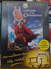 LES DIX COMMANDEMENTS MES MEILLEURS SEANCES EDDY MITCHEL DVD SCELLE NEUF!!!