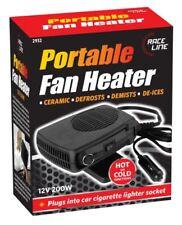 2in1 Portable Ceramic Car Fan Heater Cooler Plug in De mister Defroster 12V 150W