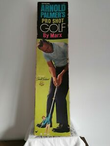 Vintage Arnold Palmer's Pro Shot Golf Game By Marx - Boxed