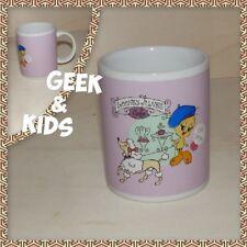 Mug Titi - Tweety - Looney Tunes - Café - Rose lilas - Ref M2