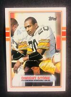 Pittsburgh Steelers DWIGHT STONE autograph signed AUTO TOPPS card MIDDLE TENN ST