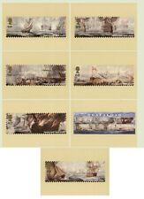 GB POSTCARDS PHQ CARDS MINT FULL SET 2005 TRAFALGAR PACK 280