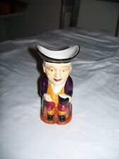 Shorter & Son England Staffshire Toby Creamer 5 1/4 Tall Porcelain