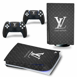 Sony Playstation 5 Console Decals Dior Luxury Fashion Skins New Vinyl Covers !!
