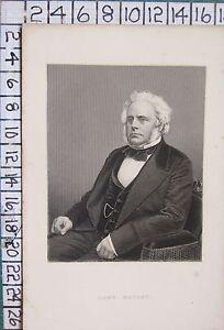 C1850 Antico Stampa ~ John Bright
