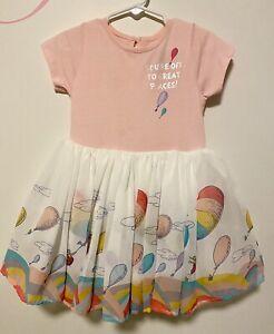 Dr Seuss Toddler Girls Dress 3T Lot 2 piece Tutu Dress & Tank Dress