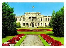 Bonn Villa Hammerschmidt Postcard Germany Flag President Fountain Flowers