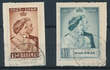 [300] Bahamas 1948 good set very fine used stamps