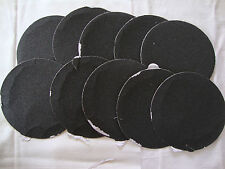 """5"""" Inch 10 Sandpaper Disks 320 Grit Peel and Stick Adhesive Abrasive Sand Paper"""