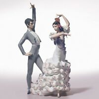 LLADRO A PASSIONATE DANCE #6387 BRAND NIB LOVE ROMANCE SPANISH FLAMENCO SAVE$ FS