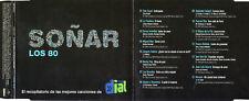 """MECANO - TINO CASAL - ALASKA Y DINARAMA - EL ULTIMO DE LA FILA """"SOÑAR LOS 80"""" CD"""