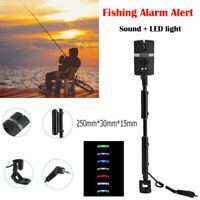 Carp Fishing Bite Alarm Swinger Hanger LED Bite Indicator Fishing Tackle Black