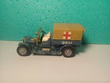 Voiture Miniature MatchBox  « Crossley - R.A.F Tender- 1918 » N°Y-13