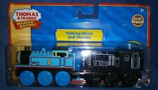NEW 2011 Thomas & Friends Wooden Railway Talking Diesel and Thomas LC98179 RARE!