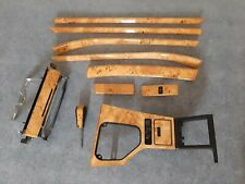 BMW 5 Series E39 INDIVIDUAL Natural Poplar Wood Interior Trim LHD Rare