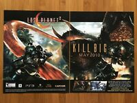 Lost Planet 2 Xbox 360 PS3 2010 Vintage Poster Ad Art Print Official Promo Rare