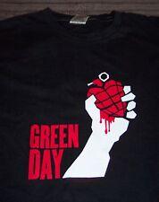 GREEN DAY AMERICAN IDIOT 2005 TOUR Heart Grenade T-Shirt MEDIUM NEW