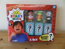 Ryans World 6 Pack Collectible Figure Set Brand new