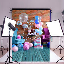 5*7FT Birthday Baby Theme Photography Background Backdrop Studio Prop Decoration