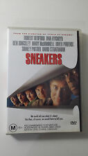 Sneakers (1992) Robert Redford, Dan Aykroyd, Ben Kingsley, River Phoenix R4 DVD